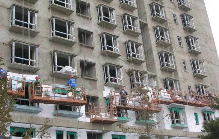成都聚苯板厂家案例-成都建筑工程