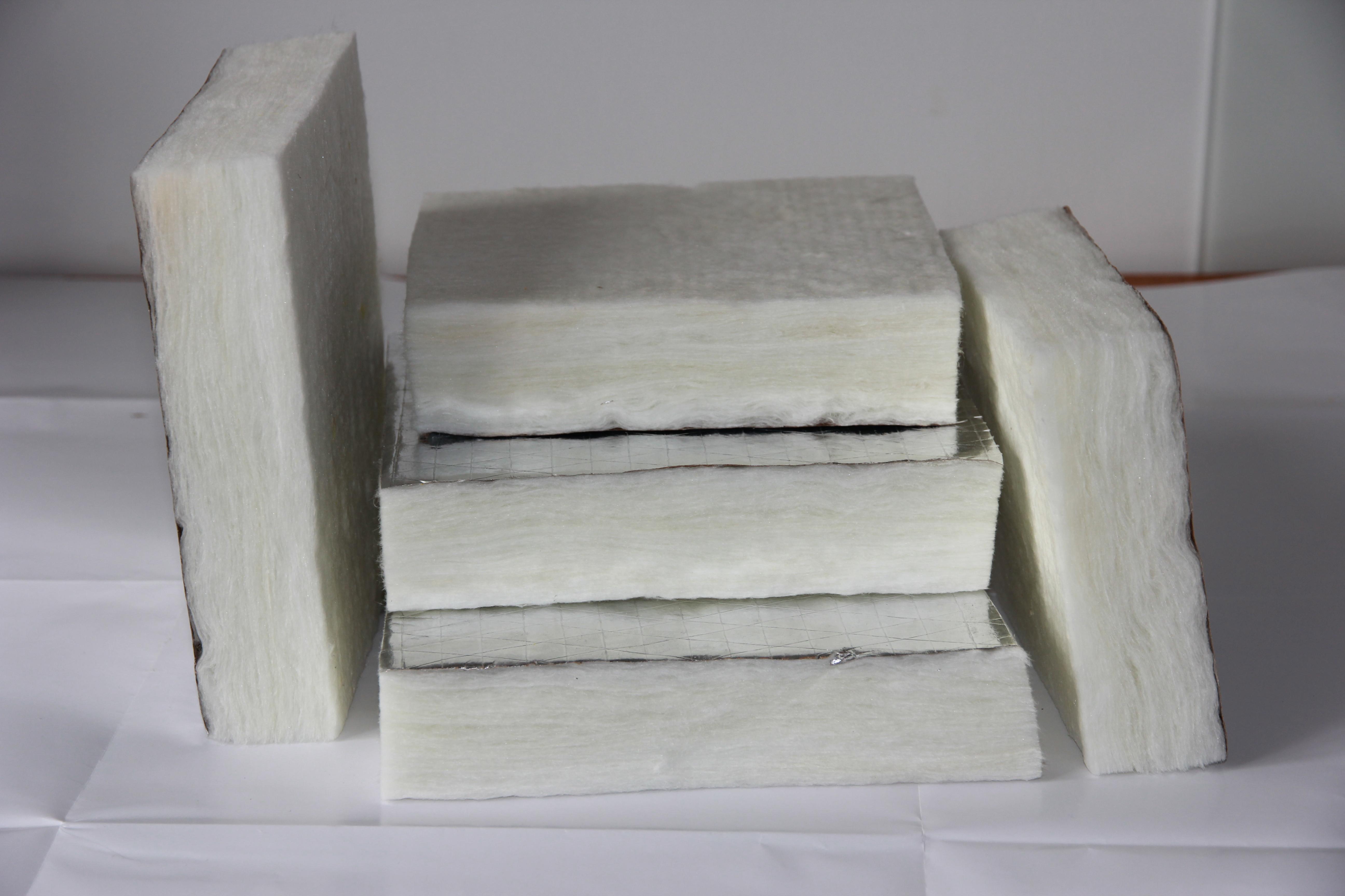 白色无甲醛玻璃棉