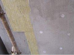 岩棉保温板外墙保温链接结构模式